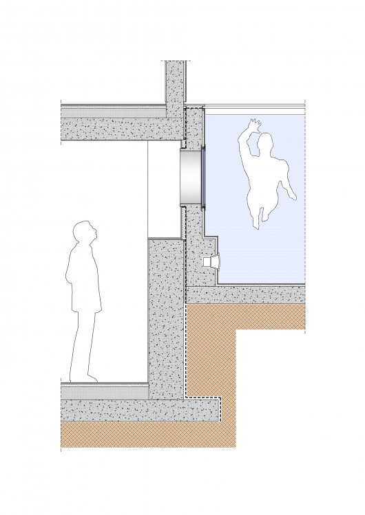 Swimming Pool Foundation Details : House in ashdod israel zahavi architects archdaily