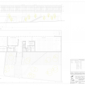 CETICOM Jaén / ER Arquitectos   + non Arquitectura Ground Floor Plan, North Elevation