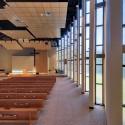 معماری کلیسا،معماری فضای فرهنگی