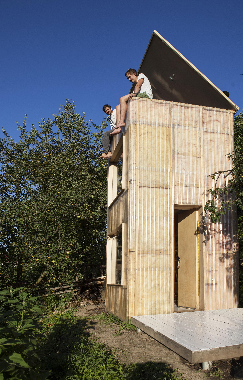 Garden Library by Mjölk architekti - Czech Republic - Humble Homes