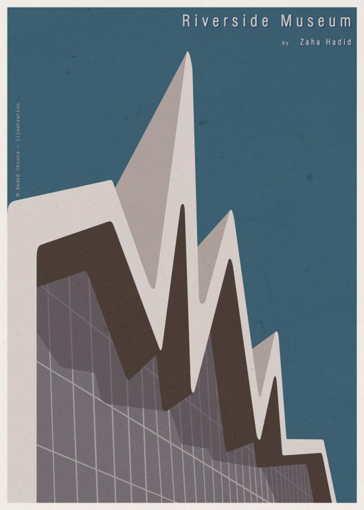 giveaway andre chiote illustrations of iconic buildings archdaily