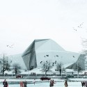 New Wave Architecture Designs Rock Gym for Polur © New Wave Architecture