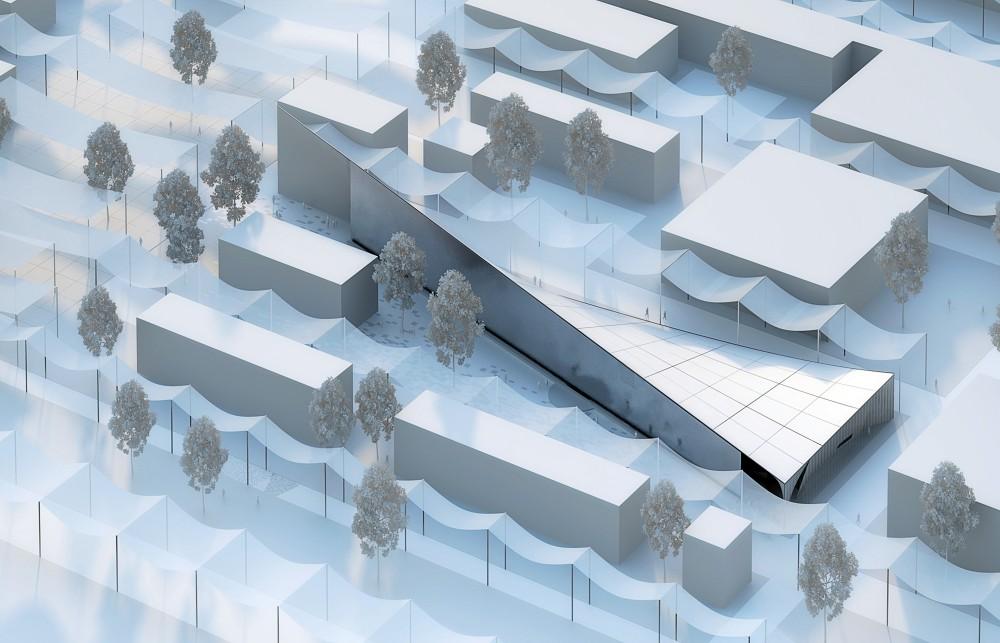 طرح غرفه روسیه در نمایشگاه اکسپو میلان 2015