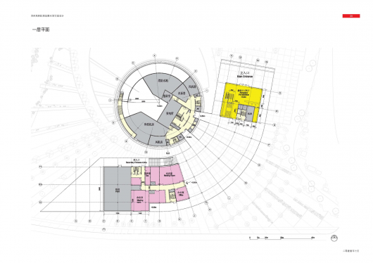 Suzhou snd district urban planning exhibition hall bdp for Urban floor plans
