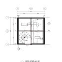 Vertical Glass House  / Atelier FCJZ Ground Floor Plan