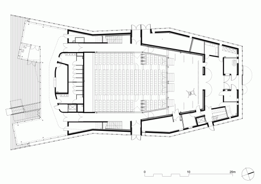 Contemporary church floor plans joy studio design for Modern church designs and floor plans