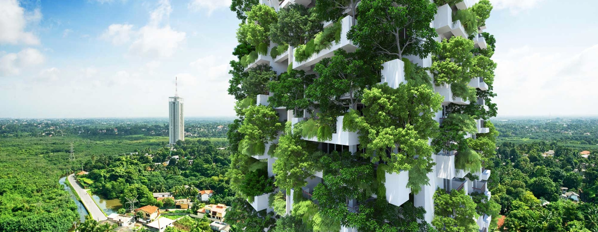 Progressive Architects Love To Incorporate Plants Into Their Projects.  Milroy Perera Associates Have Recently Designed The Worldu0027s Tallest Vertical  Garden.