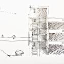 Parking Building / JAAM sociedad de arquitectura Sketch