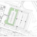 Parking Building / JAAM sociedad de arquitectura Site Plan