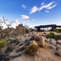 Black Desert House / Oller & Pejic Architecture © Marc Angeles