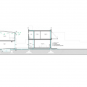 Office & House Luna  / Hitzig Militello arquitectos Section C-C