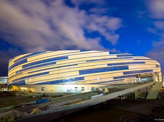 طراحی دهکده المپیک زمستانی سوچی