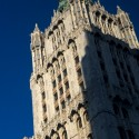 AD Classics: Woolworth Building / Cass Gilbert Blue and yellow accents. Image © Aaron Sylvan