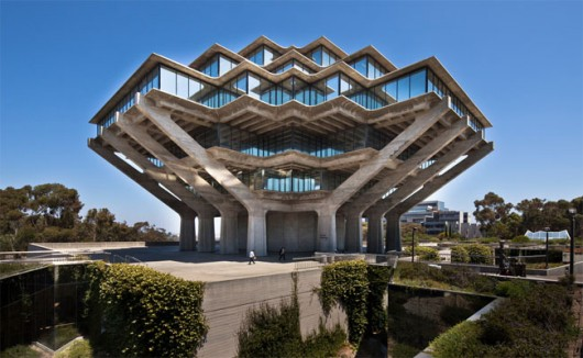 geisel library at uc san diego designed by william pereira image
