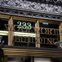 AD Classics: Woolworth Building / Cass Gilbert Building signage. Image © Bob Estremera