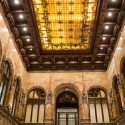 AD Classics: Woolworth Building / Cass Gilbert View of lobby skylight. Image © Bob Estremera