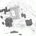 Robert Menzies College Student Accommodation  / Allen Jack+Cottier Architects Site Plan