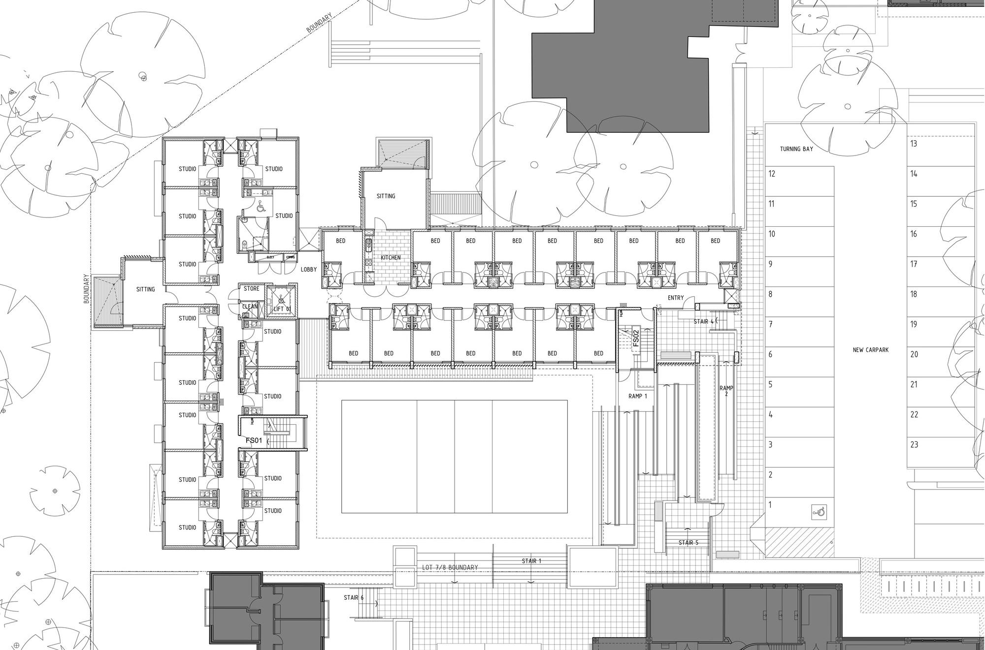 Micro Apartments Floor Plans Studentenwoningen On Pinterest Dormitory Micro