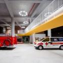 Da-Yo Fire Station / K-Architect © Poyi Lee