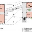 Da-Yo Fire Station / K-Architect Second Floor Plan