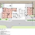 Da-Yo Fire Station / K-Architect Ground Floor Plan