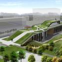Da-Yo Fire Station / K-Architect Rendering 3d