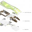 Da-Yo Fire Station / K-Architect Isometric 2