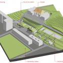 Da-Yo Fire Station / K-Architect Isometric 1