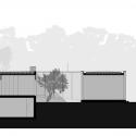 Casa Aroeira III / ColectivArquitectura West Elevation