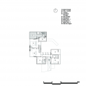 La Piscucha / Cincopatasalgato Upper Floor Plan