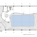 Kayseri Ice Ring / BKA-BahadırKulArchitects Mezzanine Floor Plan