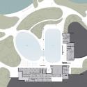 LeFrak Center at Lakeside / Tod Williams Billie Tsien Architects Ground Floor Plan