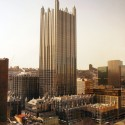 AD Classics: PPG Place / John Burgee Architects with Philip Johnson via Wikipedia Commons