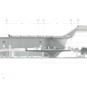 Cineteca Nacional S. XXI / Rojkind Arquitectos Section © Rojkind Arquitectos