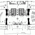 AD Classics: Pirelli Tower / Gio Ponti, Pier Luigi Nervi Ground Floor Plan