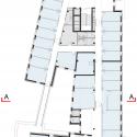 Archipel Habitat Head Office / Bruno Gaudin Architectes Fourth Floor Plan