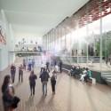 "Kengo Kuma Presents Shortlisted Design for ArtA ""Civic Center"" in Arnhem Arts Square. Image © Kengo Kuma & Associates"