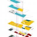 "Kengo Kuma Presents Shortlisted Design for ArtA ""Civic Center"" in Arnhem © Kengo Kuma & Associates"