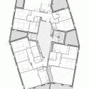 Ginko Eco-Quarter / La Nouvelle Agence Fifth Floor Plan
