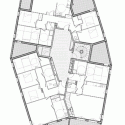 Ginko Eco-Quarter / La Nouvelle Agence Fourth Floor Plan