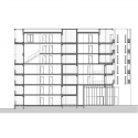 Ginko Eco-Quarter / La Nouvelle Agence Longitudinal Section