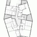 Ginko Eco-Quarter / La Nouvelle Agence Second / Third Floor Plan