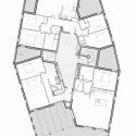 Ginko Eco-Quarter / La Nouvelle Agence Sixth Floor Plan