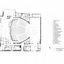 Topfer theatre at ZACH / Andersson Wise Architects Ground Floor Plan