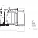 Topfer theatre at ZACH / Andersson Wise Architects Second Floor Plan