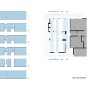 Shoup Residence / building Lab Sections Diagrams