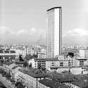 AD Classics: Pirelli Tower / Gio Ponti, Pier Luigi Nervi Courtesy of Università Iuav di Venezia - SBD, Archivio Progetti, Giorgio Casali's archive
