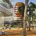"Edouard François Designs Mixed-Use ""Gardens of Anfa"" for Casablanca © Maison Edouard François"
