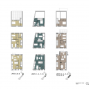 Social Housing in Shangan Avenue  / FKL architects Unit Plans 1