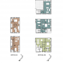Social Housing in Shangan Avenue  / FKL architects Unit Plans 2